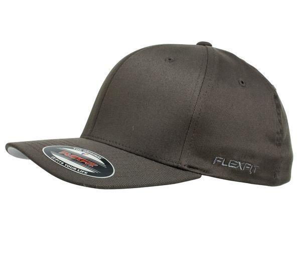c0729e6f5c4 FLEXFIT PERMA CURVE CAP DARK GREY 6277 NEW FLEX FIT CAP AUST HAT HATS CAPS