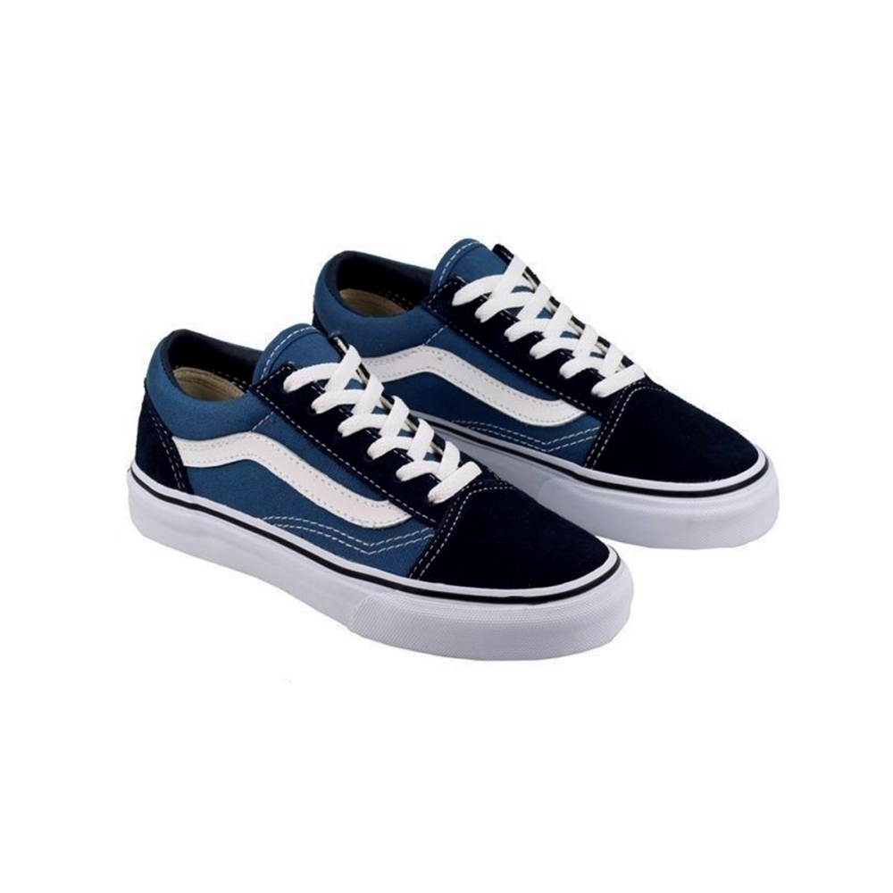 56ccf173bb9b79 VANS KIDS OLD SKOOL NAVY FREE POSTAGE AUSTRALIAN SELLER