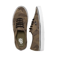 VANS SHOES AUTHENTIC CAMO JACQUARD RAVEN / WHITE NEW SALE SHOE VN-04MLJOM