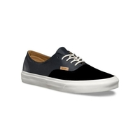 VANS SHOES AUTHENTIC DECON PIG SUEDE / LEATHER BLACK  SKATE SKATEBOARD CASUAL