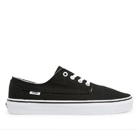 VANS SHOES BRIGATA  BLACK / WHITE VN-0ZAB6BT SHOES US SIZE AUTHENTIC