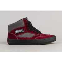 VANS HALF CAB PRO FULL CAB PRO(50TH) '89 BUGUNDY / GREY SKATE SHOES MENS HALF CAB VN-06KUJ6Q