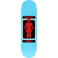 "GIRL SKATEBOARDS BROPHY SHIELA 8.25"" DECK SKATEBOARD"