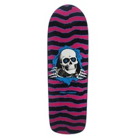 POWELL PERALTA OLD SKOOL RIPPER PINK / BLUE Bones Brigade Reissue Skate deck