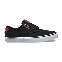 VANS SHOES CHIMA FERGUSON PRO BLACK BRUSHED TWILL SELLER SKATE SHOE SHOES VN-08CFN1I