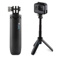 GoPro SHORTY MINI EXTENSION POLE + TRIPOD Black New Waterproof WORKS WITH ALL GOPRO CAMERAS