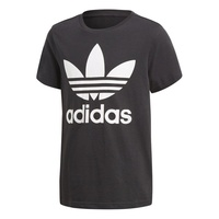 ADIDAS J TRF TEE TEE BLACK / WHITE CF8545 AUST SELLER YOUTH BOYS KIDS