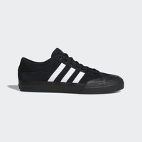 ADIDAS MATCHCOURT BLACK BLACK WHITE SKATEBOARD SHOES SUEDE CANVAS NEW BY3201 AUS