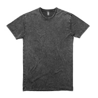 AS COLOUR T-SHIRT STAPLE TEE STONE WASH BLACK NEW MENS TEE AUSTRALIAN SELLER