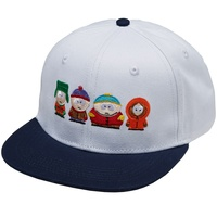 HUF CAP South Park WHITE STRAPBACK HAT Snapback Cap New Skate Aust Seller  HAT