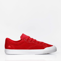 EMERICA SHOES INDICATOR LOW RED / WHITE SKATEBOARD