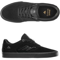 EMERICA REYNOLDS LOW VULC BLACK / BLACK / GREY AUSTRALIAN SELLER FREE POSTAGE