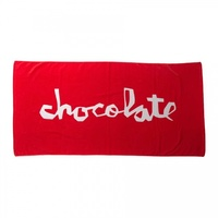 CHOCOLATE SKATEBOARDS BEACH TOWEL RED 13255900