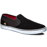 EMERICA PROVOST CRUISER SLIP BLACK / WHITE SHOES AUSTRALIAN SELLER FREE POSTAGE