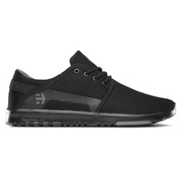 ETNIES SHOES SCOUT BLACK / GREY / BLACK  SKATEBOARD AUSTRALIAN