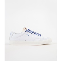 NIKE SB ZOOM BLAZER LOW XT QUARTER SNACKS WHITE / UNIVERSITY BLUE SAIL AUSTRALIAN SELLER