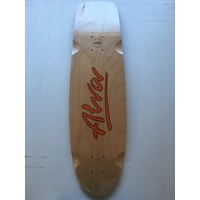 Alva Old School deck 1979 LOST MODEL 8.5X 30 Re Issue Cruiser Deck Skateboard New Aust Seller