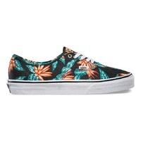 VANS AUTHENTIC VINTAGE ALOHA BLACK / TRUE WHITE SHOES NEW FREE POSTAGE