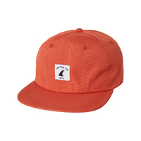 CAPTAIN FIN CO MFG HAT CAP NEW BURNT ORANGE SNAPBACK