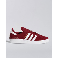 Adidas Campus Adv Skate Burgandy White Shoes Free Post Aust Skate Shop Kingpin