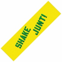 SHAKE JUNT GRIP TAPE YELLOW GREEN SKATEBOARD FREE POSTAGE AUSTRALIAN SELLER