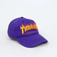 Thrasher  Snapback FLAME OLD TIMER HAT New Cap Skate Free Post Aust Skate Goat