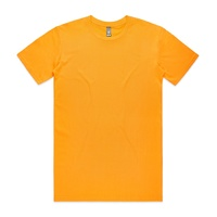 AS COLOUR T-SHIRT STAPLE TEE GOLD PLAIN NEW MENS AUSTRALIAN SELLER KINGPIN