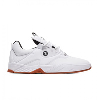 DC SHOES KALIS S WHITE/ BLACK/ GUM (WKM) KINGPIN SKATEBOARD SUPPLY AUSTRALIAN SELLER