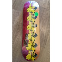 "DEATHWISH JAKE HAYES PRO SKATEBOARD DECK 8.5"" WATER STAINED FREE POSTAGE FREE GRIP KINGPINSTORE"