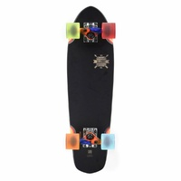 "GLOBE BLAZER BLACK COLOUR BOMB 26"" CRUISER COMPLETE SKATEBOARD NEW SKATE"