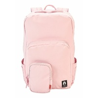NIXON BACKPACK DAILY 20L BACKPACK PETAL PINK NEW All Black Nylon