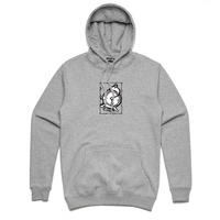 TIME SKATEBOARDS x LAST CALL HOOD GREY AUS SELLER KINGPINSTORE