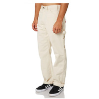 DICKIES RELAXED FIT UTILITY DOUBLE KNEE 34 x 32 CREAM WORK PANTS KINGPIN SKATE FREE POST AUS SELLER