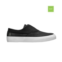HUF DYLAN SLIP ON BLACK WHITE WHITE LEATHER FREE POSTAGE AUSTRALIAN