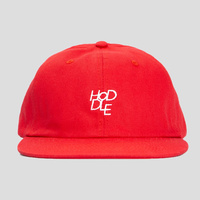 Hoddle 6 Panel Hat New Red Cap Skate Free Post Aus Strap Back Kingpin