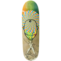 "MADNESS SKATEBOARD DECK MIND TRIP R7 9.0"" WIDE"