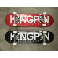 "KINGPIN SKATEBOARD COMPLETE 7.25"" ABEC 7 BEARINGS MINI"