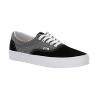 VANS ERA CHAMBRAY CANVAS BLACK / TRUE WHITE (Chambray) Canvas Black/True White