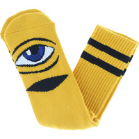 TOY MACHINE SOCKS SECT EYE SOCK MUSTARD NEW AUSTRALIAN SELLER KINGPIN SKATE SHOP FREE POST