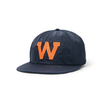 "WKND ""EDDY"" SNAP BACK NAVY NEW Cap 6 Panel Hat New Strap Back Skate Free Post Aust WKND"
