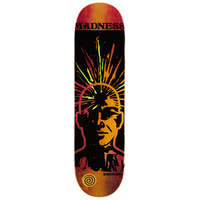 "MADNESS SKATEBOARD DECK KREINER EXPANDED R7 8.25"" X 32 14.25 WB"