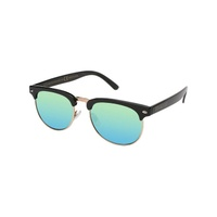 HAPPY HOUR HERMAN G2 BLACK GOLD MIRROR SUNGLASSES SHADES SUNNIES SKATE SURF