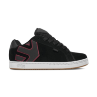 ETNIES SHOES FADER BLACK / WHITE / BURGUNDY SKATEBOARD AUSTRALIAN