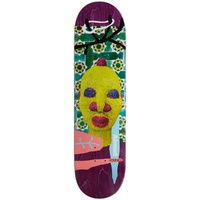 "ALMOST Skateboard YOUNESS 8.25"" AFRICAN MASK DECK R7"