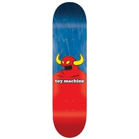 "TOY MACHINE 8.5"" MONSTER SKATEBOARD DECK 14.5"" WB 32.38"""