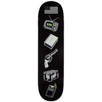 "BLIND Skateboard 8.25"" AMERICAN ICONS BLACK SKATEBOARD DECK AUST"