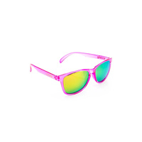 GLASSY DERIC TRANS PINK Sunglasses