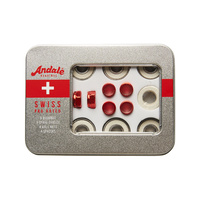 ANDALE Swiss Pro Rated Skateboard Bearings - Set Of 8