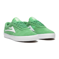 LAKAI Sheffield Suede Shoe Sneaker GREEN