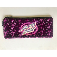 SANTA CRUZ Electro Dot Pencil Case BLACK PINK